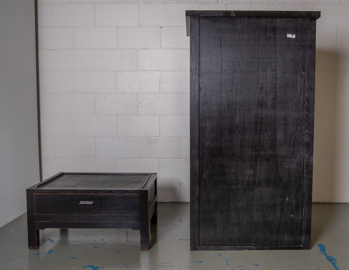 Wardrobe - Dramatic And Beautiful Canton Black Lombok Wardrobe