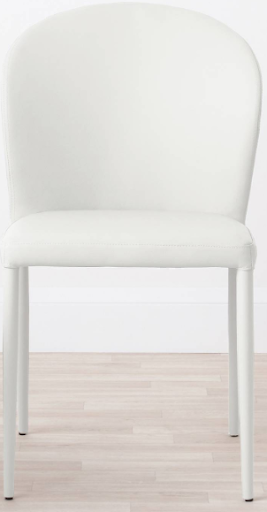 Danetti Stackable Faux Leather Dining Chair