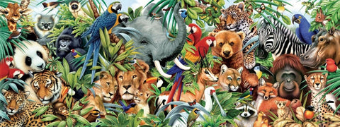 Special Order - Animals Galore - Full Drill Diamond Painting - Specially ordered for you. Delivery is approximately 4 - 6 weeks.