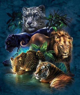 Animal Waterhole - Full Drill Diamond Painting - Specially ordered for you. Delivery is approximately 4 - 6 weeks.