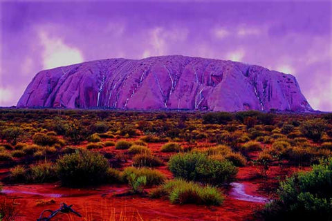 Ayers Rock - 61 x 91.5cm (poster size) Full Drill (square) Diamond Painting Kit - Currently in stock