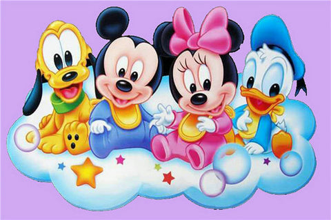 Cartoon Favourites- Full Drill Diamond Painting - Specially ordered for you. Delivery is approximately 4 - 6 weeks.