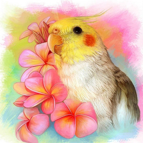 Special Order - Cockatiel - Full Drill Diamond Painting - Specially ordered for you. Delivery is approximately 4 - 6 weeks.