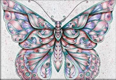 Colour Wash Butterfly 02- Full Drill Diamond Painting - Specially ordered for you. Delivery is approximately 4 - 6 weeks.