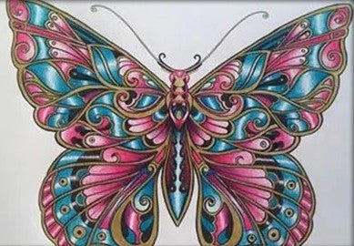 Special Order - Colour Wash Butterfly 03 - Full Drill Diamond Painting - Specially ordered for you. Delivery is approximately 4 - 6 weeks.