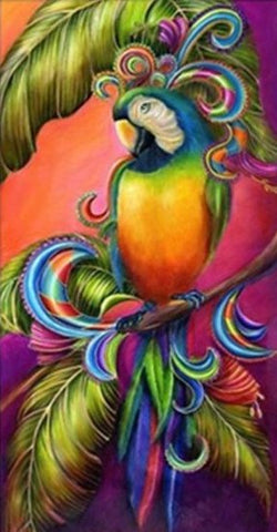 Special Order - Colourful Parrot - Full Drill Diamond Painting - Specially ordered for you. Delivery is approximately 4 - 6 weeks.