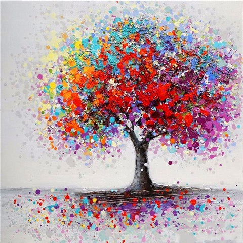 Special Order - Colourful Tree - Full Drill Diamond Painting - Specially ordered for you. Delivery is approximately 4 - 6 weeks.