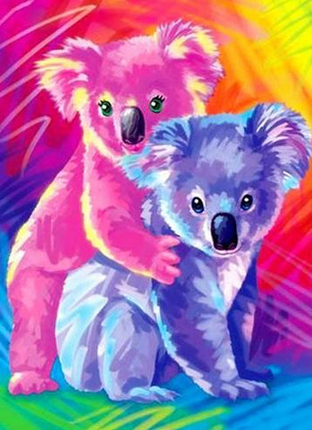 Special Order - Cute Koalas - Full Drill diamond painting - Specially ordered for you. Delivery is approximately 4 - 6 weeks.