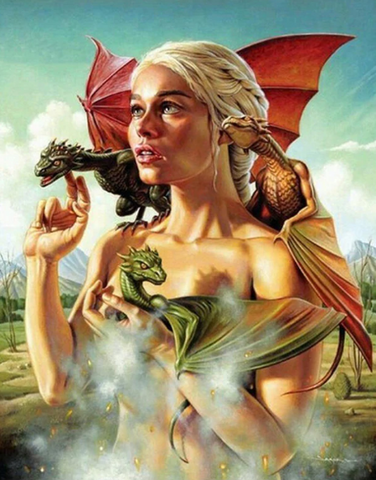 Daenerys - Full Drill Diamond Painting - Specially ordered for you. Delivery is approximately 4 - 6 weeks.