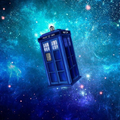 Special Order - Dr Who Tardis - Full Drill Diamond Painting - Specially ordered for you. Delivery is approximately 4 - 6 weeks.