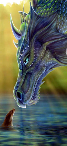 Dragon 01- Full Drill Diamond Painting - Specially ordered for you. Delivery is approximately 4 - 6 weeks.