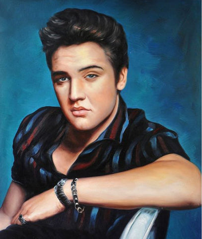 Elvis Presley 2- Full Drill Diamond Painting - Specially ordered for you. Delivery is approximately 4 - 6 weeks.