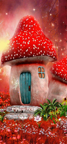 Fairy House- Full Drill Diamond Painting - Specially ordered for you. Delivery is approximately 4 - 6 weeks.