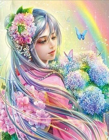 Fairy Pastel- Full Drill Diamond Painting - Specially ordered for you. Delivery is approximately 4 - 6 weeks.