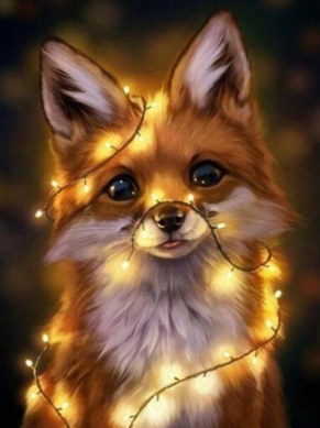 Foxy- Full Drill Diamond Painting - Specially ordered for you. Delivery is approximately 4 - 6 weeks.