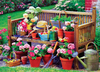 Special Order - Garden Clutter - Full Drill diamond painting - Specially ordered for you. Delivery is approximately 4 - 6 weeks.