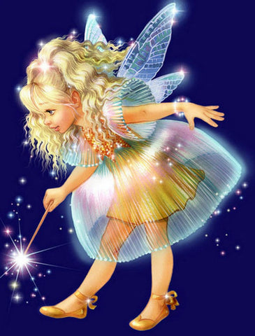 Special Order - Girl Fairy - Full Drill diamond painting - Specially ordered for you. Delivery is approximately 4 - 6 weeks.