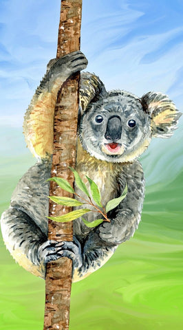 Koala Tree. Full Drill Diamond Painting - Specially ordered for you. Delivery is approximately 4 - 6 weeks.