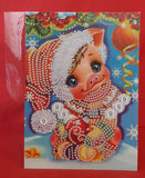 DIY Diamond Painting Christmas Card Kit - Piglet 3 (HK45) PRICE INCLUDES SHIPPING