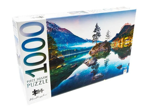 JIGSAW PUZZLE - Hintersee Lake - MINDBOG.1000 PCS
