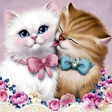 Special Order - Kitten Love - Full Drill Diamond Painting - Specially ordered for you. Delivery is approximately 4 - 6 weeks.