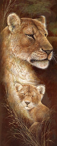 Special Order - Wild Mothers Lioness - Full Drill Diamond Painting - Specially ordered for you. Delivery is approximately 4 - 6 weeks.