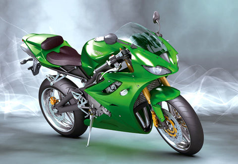 Motorcycle 02- Full Drill Diamond Painting - Specially ordered for you. Delivery is approximately 4 - 6 weeks.