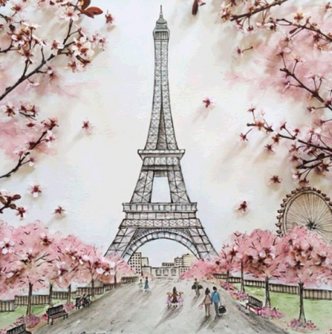 Special Order - Paris 02 - Full Drill Diamond Painting - Specially ordered for you. Delivery is approximately 4 - 6 weeks.