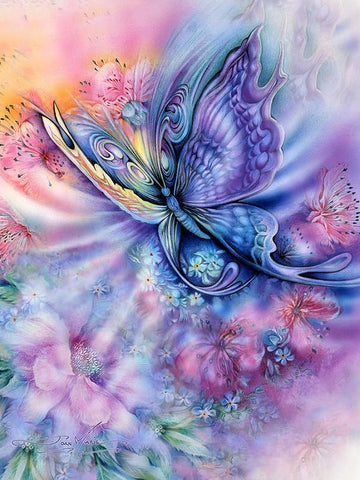 Special Order - Pastel Butterfly - Full Drill diamond painting - Specially ordered for you. Delivery is approximately 4 - 6 weeks.