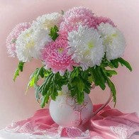 Special Order - Pink and White Flowers - Full Drill Diamond Painting - Specially ordered for you. Delivery is approximately 4 - 6 weeks.