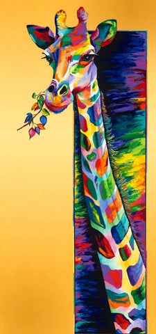 Rainbow Animals 16- Full Drill Diamond Painting - Specially ordered for you. Delivery is approximately 4 - 6 weeks.