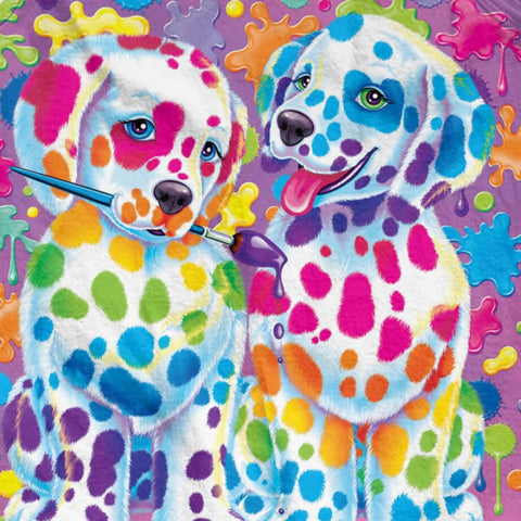 Rainbow Puppies - Full Drill Diamond Painting - Specially ordered for you. Delivery is approximately 4 - 6 weeks.