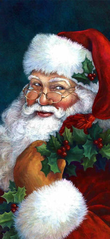 Santa 2- Full Drill Diamond Painting - Specially ordered for you. Delivery is approximately 4 - 6 weeks.
