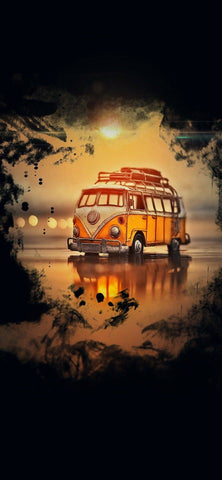 Vintage VW- Full Drill Diamond Painting - Specially ordered for you. Delivery is approximately 4 - 6 weeks.