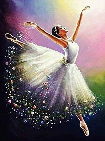 Ballerina - Full Drill Diamond Painting - Specially ordered for you. Delivery is approximately 4 - 6 weeks.