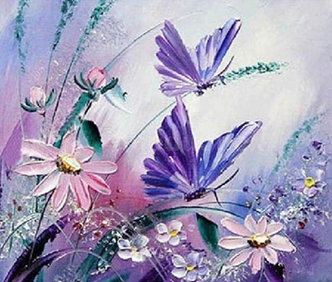 Special Order - Butterflies - Full Drill Diamond Painting - Specially ordered for you. Delivery is approximately 4 - 6 weeks.