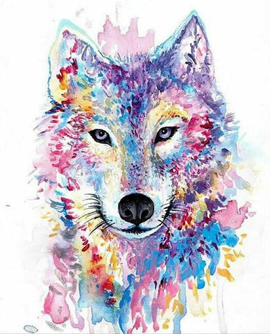 Col Wolf - Full Drill Diamond Painting - Specially ordered for you. Delivery is approximately 4 - 6 weeks.