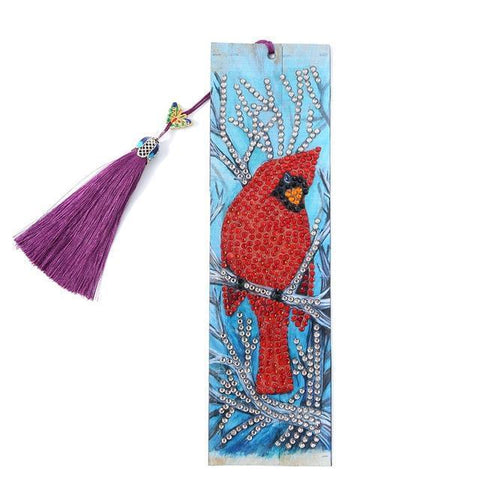 Diamond Painting Bookmark - Bird