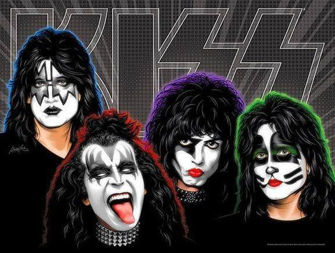 Kiss 03- Full Drill Diamond Painting - Specially ordered for you. Delivery is approximately 4 - 6 weeks.