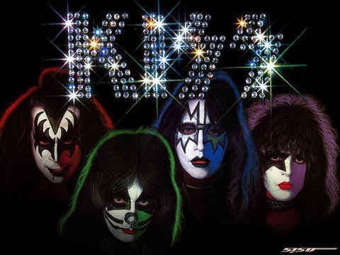 Kiss 04- Full Drill Diamond Painting - Specially ordered for you. Delivery is approximately 4 - 6 weeks.