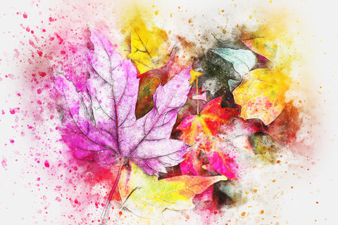 Leaves - Full Drill Diamond Painting - Specially ordered for you. Delivery is approximately 4 - 6 weeks.