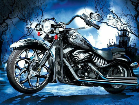Motorcycle (2)- Full Drill Diamond Painting - Specially ordered for you. Delivery is approximately 4 - 6 weeks.