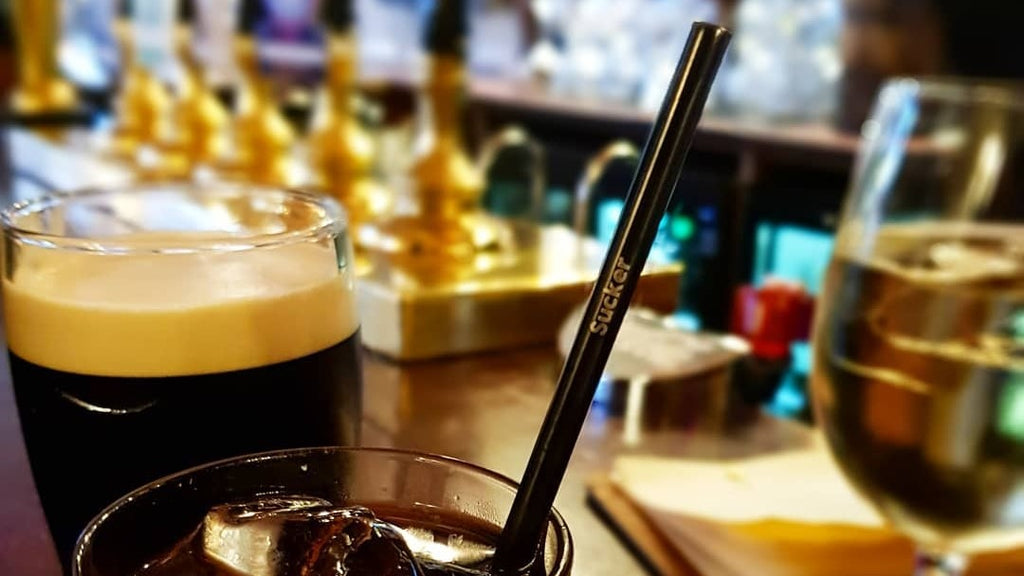 How safe are SuckerStraws sustainable, reusable metal straws for bar and restaurant customers?