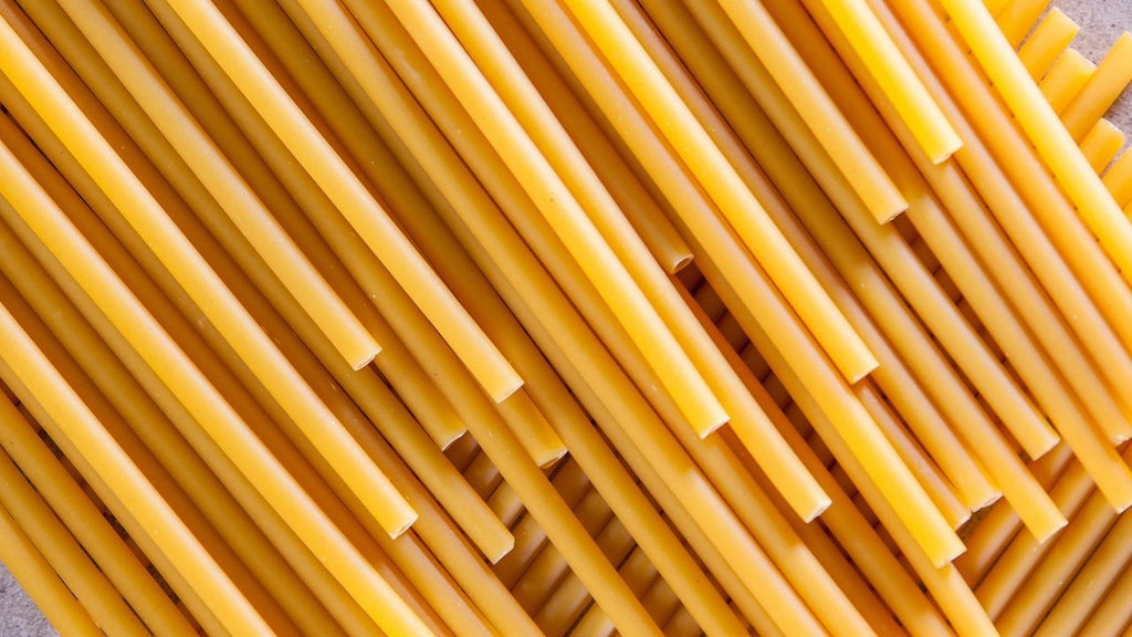 The pros and cons of pasta straws in bars, pubs, cafes and restaurants worldwide.