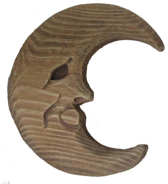 Man in the Moon - Wooden Wall Decor -Halloween