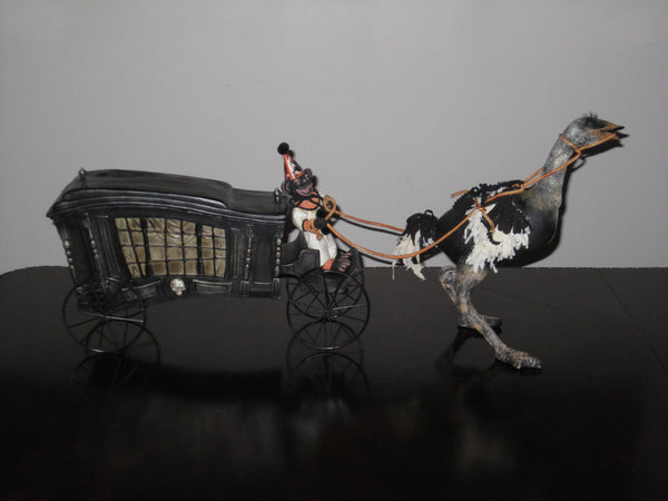Haunted Hearse Tabletop Display
