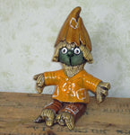 Little Scarecrow Boy Figurine