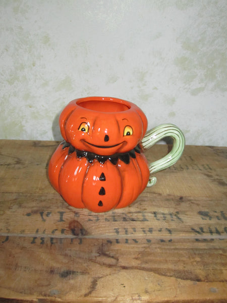 Cute Retro Pumpkin Mug