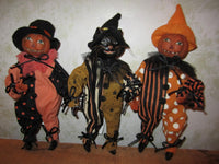 Trick-or-Treat Tricksters - Set of 3