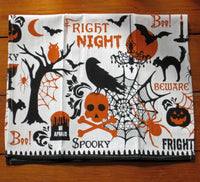 Fright Night Halloween Dishtowel